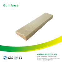 Food activities polyisobutylene gum base