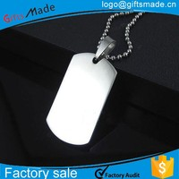 New promotional products cheap custom wholesale blank dog tag