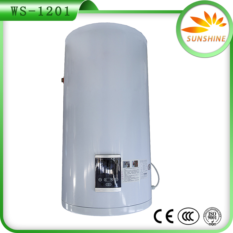 Low Pressure Solar Hot Water Heater Pressed Steel Water Tank