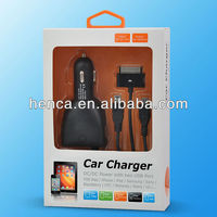 fast travel car charger 5v 4600mA for all iPhone