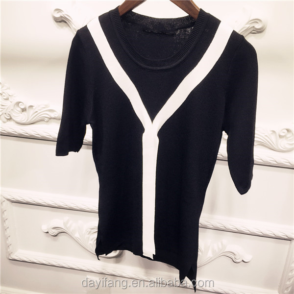 Outline Original Design Retro Ethnic Style Sweater