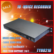 voice recorder 8 port Multi-Line Stand Alone Phone Voice Recorder