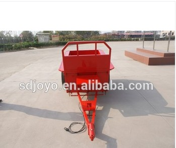 new small hand farm trailer single axle trailer tipper trailer in Egypt