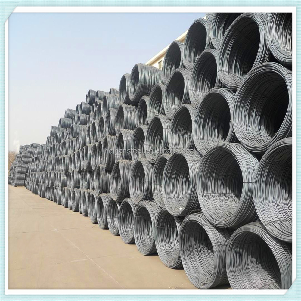 steel wire rod sae 1008 q195 low carbon steel wire rods hot rolled steel wire rod coil