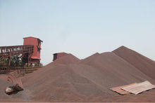 iron ore pellets 66.54 grade from India and 66.76 grade from brazil a