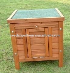 Mini Wooden Rabbit Hutch