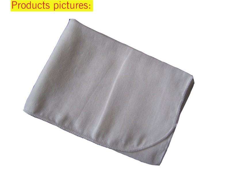 100% cotton baby face washing muslin cloth women face towel fabric cloth