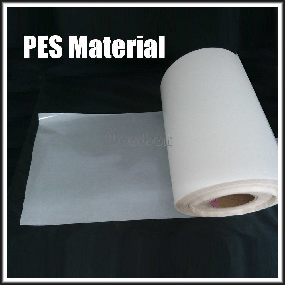 PES Translucent Hot Melt Glue Adhesive Tape Film for PVC Bonding