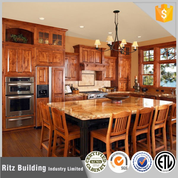 Ritz Classic Sheesham Wood Kitchen Cabinet