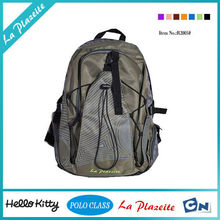 Multipurpose single strap wheeled school backpack leather
