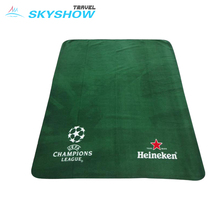 Promotional Program Reasonable Price Far 25.853 Fleece Blanket With Logo
