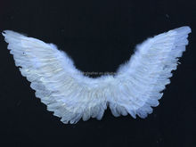 90*55cm handmade angel wings with silver lurex