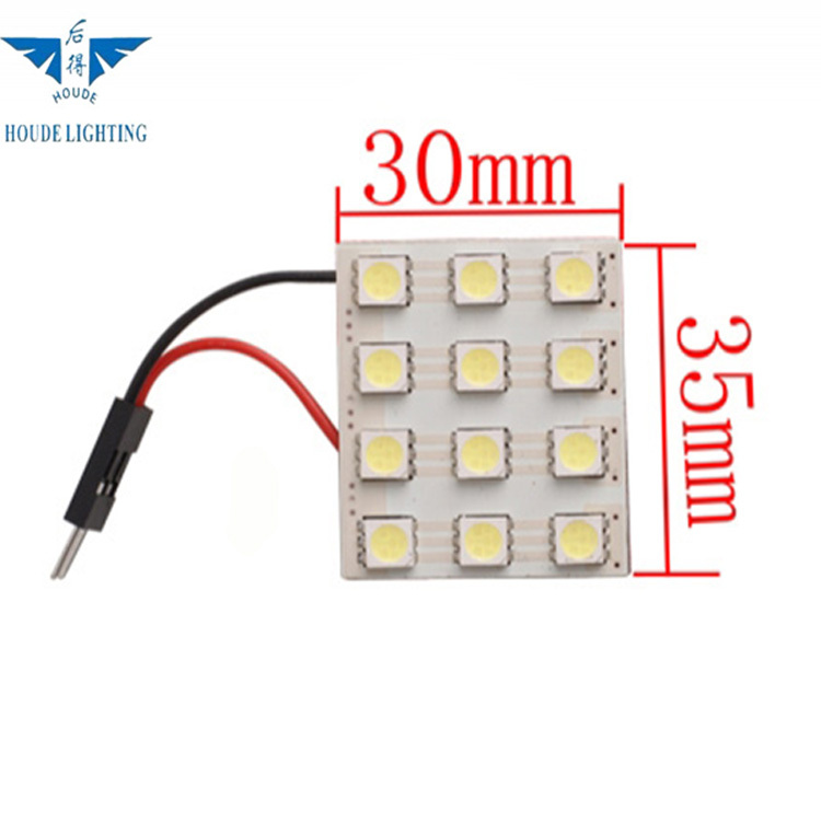 5050 led lamp panel,volvo light,three socket,double tape,automobile