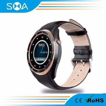 SMA SMA-S3 Android Wifi Smart Watch GPS Navigation support 3G SIM Card