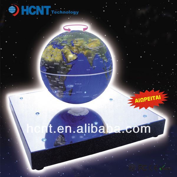 New invention ! Magetic Levitation globe for educational toys ! russian electronic toys