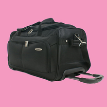 Functional 600D Polyester luggage travel bags good price,Travel cargo bag