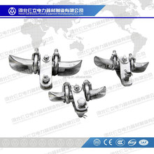 Malleable Iron CGU Type Suspension Clamp For ADSS/OPGW Cable Fittings