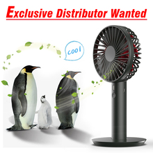2018 new design best price 5v rechargeable wholesale handheld mini battery fan with separable pedestal