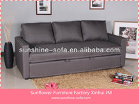 Fabric Comfortable Wood Made in China Sofa Bed