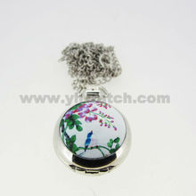 2013 unique small anime fashion pocket watches for women