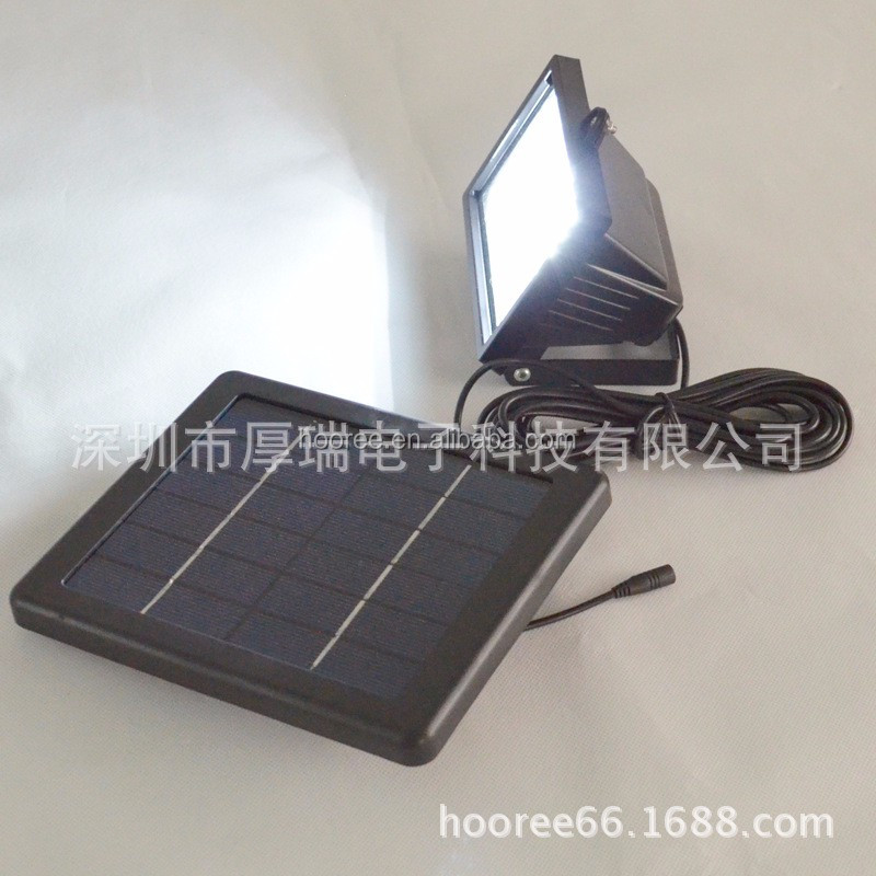 China oem manufactures led garden lights high quality solar lamp spotlight for garden/pathway/outdoor use high power