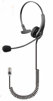 Call center Headset with RJ45 or RJ11 Connector for office workers
