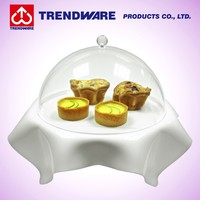 Acrylic Donut Display Tray with Cover
