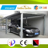 safely large car tent with construction building