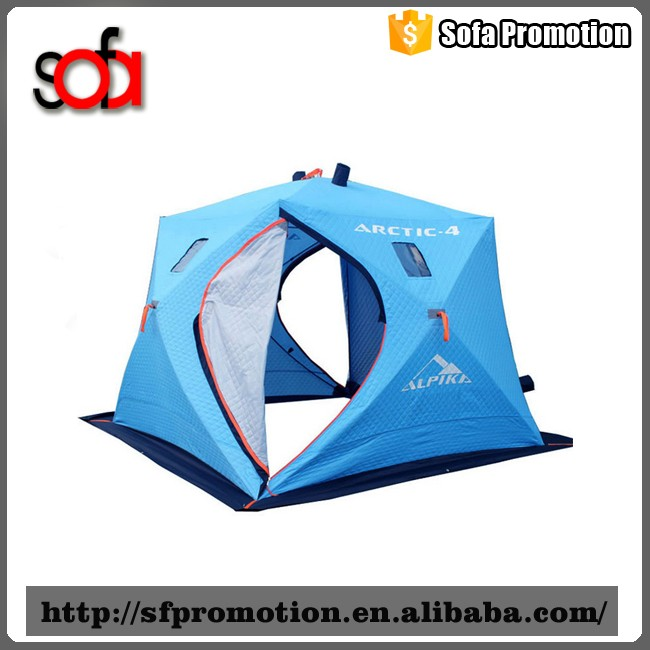 2016 hot popular skilful manufacture ice fishing tent