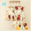 Hot selling dresses women summer flower rose girl mother and daughter match dresses