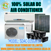 newest solar energy-saving air conditioner-12000BTU