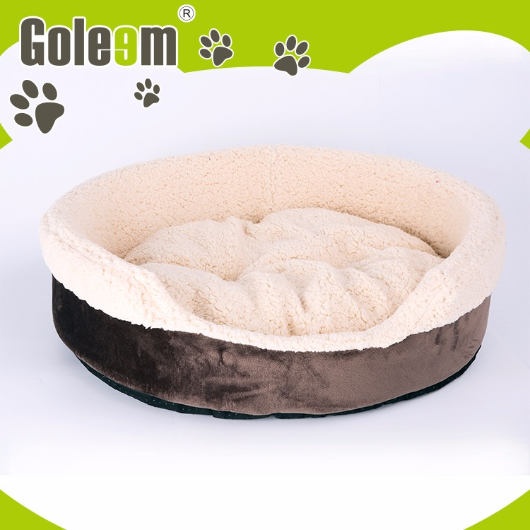 Memory Foam Round New Style Rubber patch Animal Shape Pet Beds