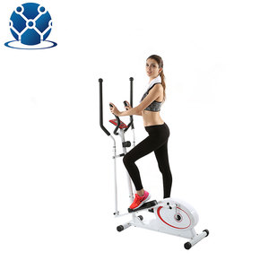 Luxurious 8 resistance level home Magnetic bicycle Cross Trainer Elliptical