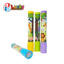 promotional childhood traditional magic toy cartoon kaleidoscope for children gifts