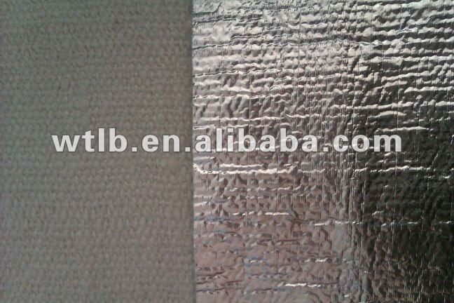 Silicide acid ceramic fiber with aluminm foil/oil channel insulation