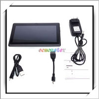 "512MB DDR3 4GB Storage Five-point Touch Screen 7"" Android 4.0 A13 Tablet PC"