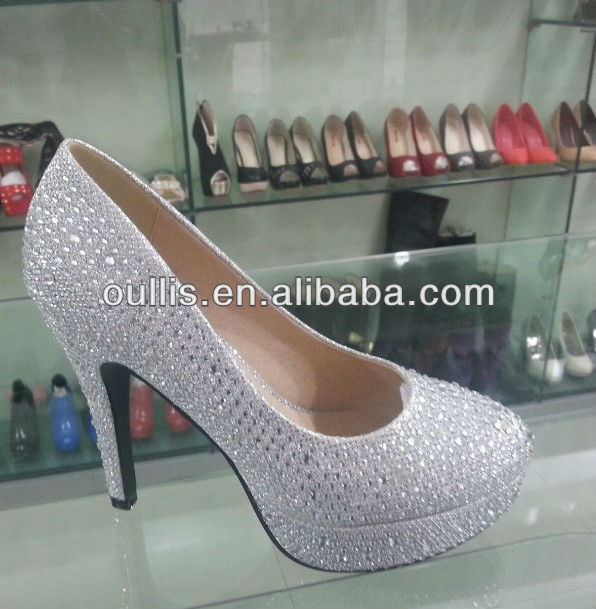 2013 upper heart-shaped shoes ladies fashion dress shoes CH6003