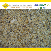Brazilian Exotic Giallo Jasmine Gold Granite Slabs For Flooring
