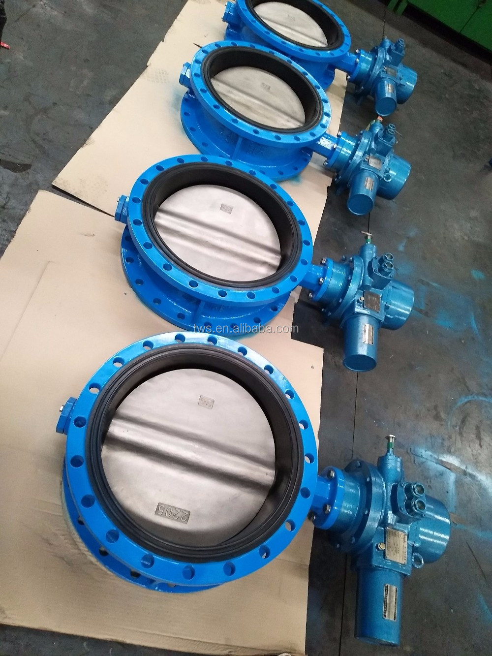 electric actuator butterfly valve 12