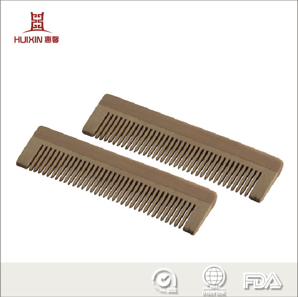 plastic comb with logo printing,hair comb wooden for men and women