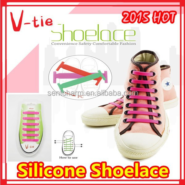 Hot sale easy best selling retail items unique items sell silicone shoelace