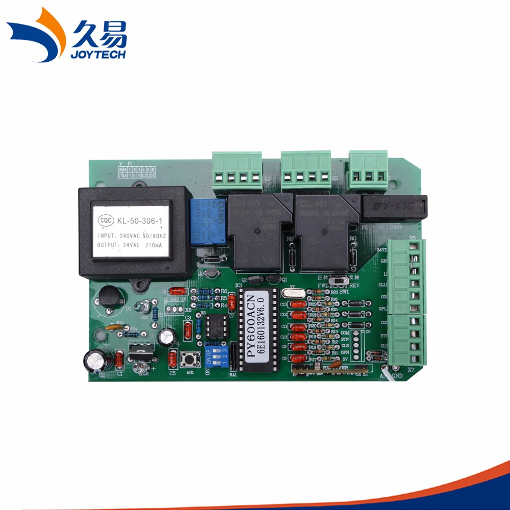 Joytech 600AC PCB Normal AC Sliding gate opener control board
