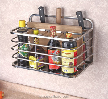 Quality high-end stainless steel kitchen utensil holder GFR-330