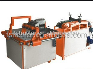 Low price Glass mosaic tile rolling making machine for breaking the glass tiles
