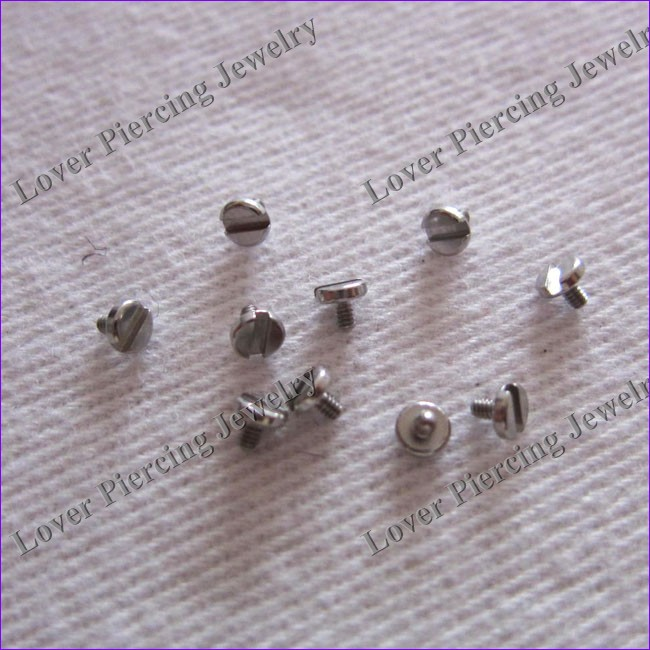 [BJ-212] Fashion Design Steel Dermal Anchor Tops Piercing Replacement Accessory