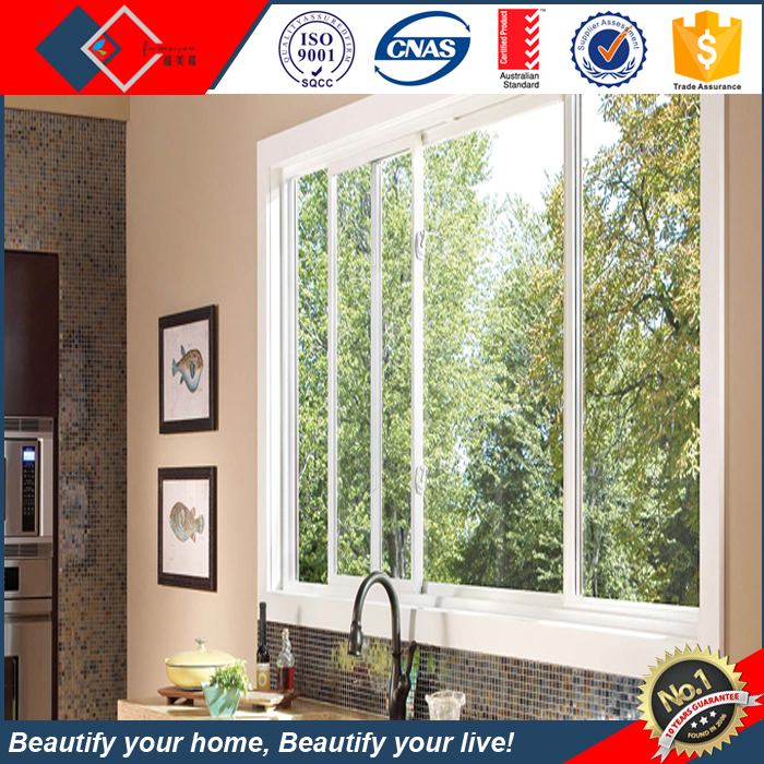 Powder coating Thermal Break Kitchen Aluminum Sliding Window Price Philippines