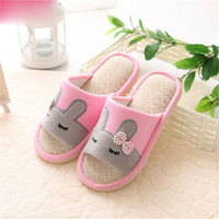 private design hot sales China Manufacturer soft lady rubber plush slipper