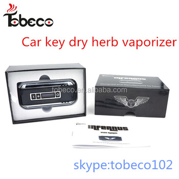 OLed Vaporizer Smoking Tobeco Car key Dry Herb Vaporizer Tobeco authentic Herb Vaporizer