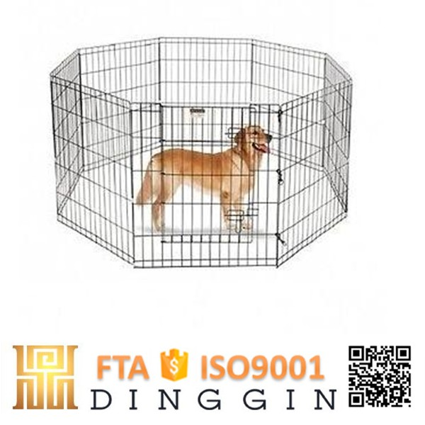 Iron fence dog kennel wholesale