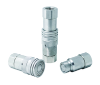 Flat Face Hydraulic High Pressure Quick Coupling